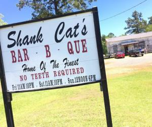 Shank Cat's BBQ - DeSoto Parish